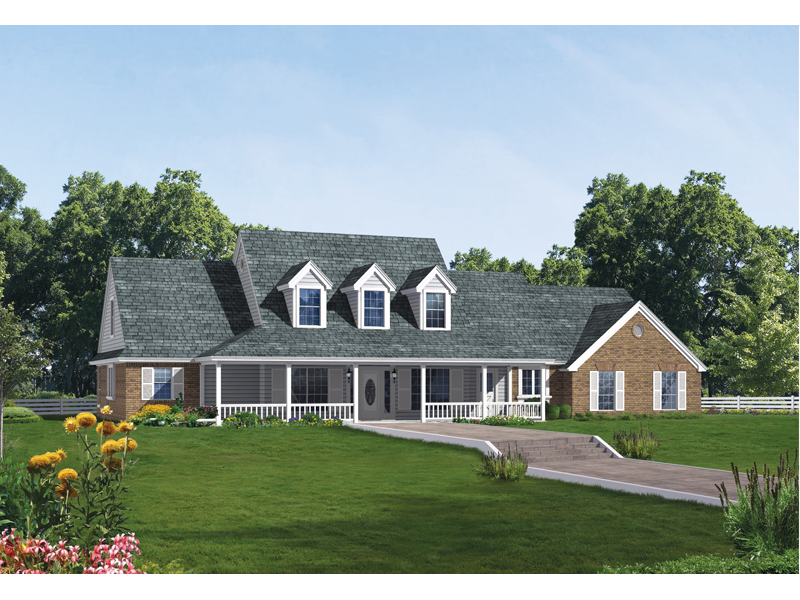 Greencreek early american home plan 036d 0059 house Early american home plans