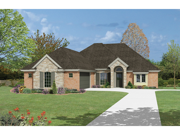 Rockford sunbelt ranch home plan 036d 0060 house plans for Sunbelt homes