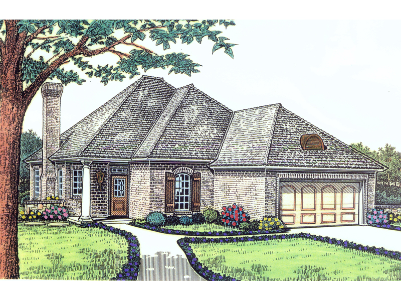 Goose Creek Ranch Home Plan 036d 0094 House Plans And More