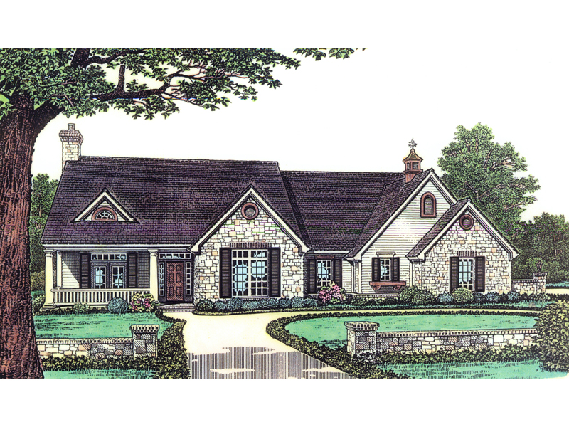 Sprucehaven southern ranch home plan 036d 0108 house for Southern home and ranch