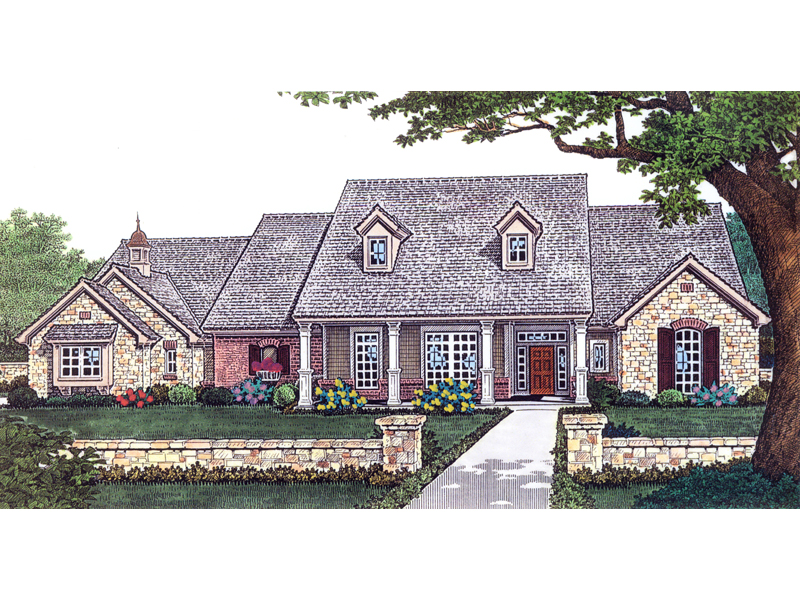Meason meadow southern home plan 036d 0114 house plans Southern charm house plans