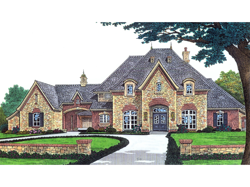 Stefano luxury european home plan 036d 0156 house plans for European style house floor plans
