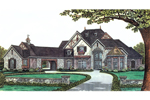 Luxury House Plan Front Image - 036D-0196 | House Plans and More