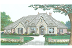 Modern House Plan Front Image - 036D-0199 | House Plans and More