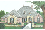 Arts & Crafts House Plan Front Image - 036D-0200 | House Plans and More