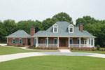 Superb Southern Plantation With Acadian Styled Roof