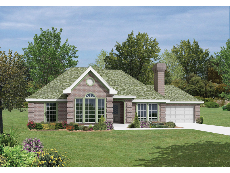 Smithfield Modern European Home Plan 037D-0008 | House Plans and More