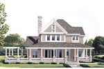 Country House Plan Front Photo 01 - 037D-0013 | House Plans and More