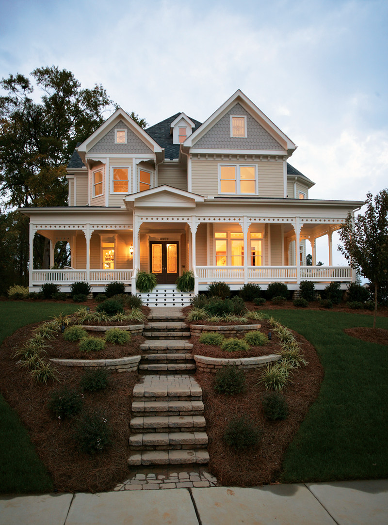 Contemporary Victorian Home