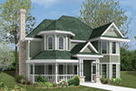 Victorian-Style Home Features Double Bays