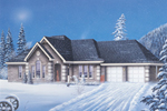 Traditional House Plan Front Photo 03 - 037D-0020 | House Plans and More
