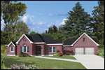 Modern House Plan Front Photo 01 - 037D-0021 | House Plans and More