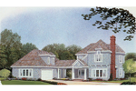 Nestled Home With Shingle Style And Craftsman Charm