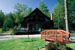 Cabin & Cottage House Plan Front Photo 03 - 038D-0002 | House Plans and More