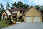 Traditional House Plan Front Photo 01 - 038D-0004 | House Plans and More