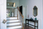 Farmhouse Home Plan Stairs Photo - 038D-0005 | House Plans and More
