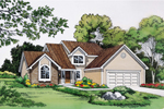 Well-Planned Home With Spiced Traditional Style