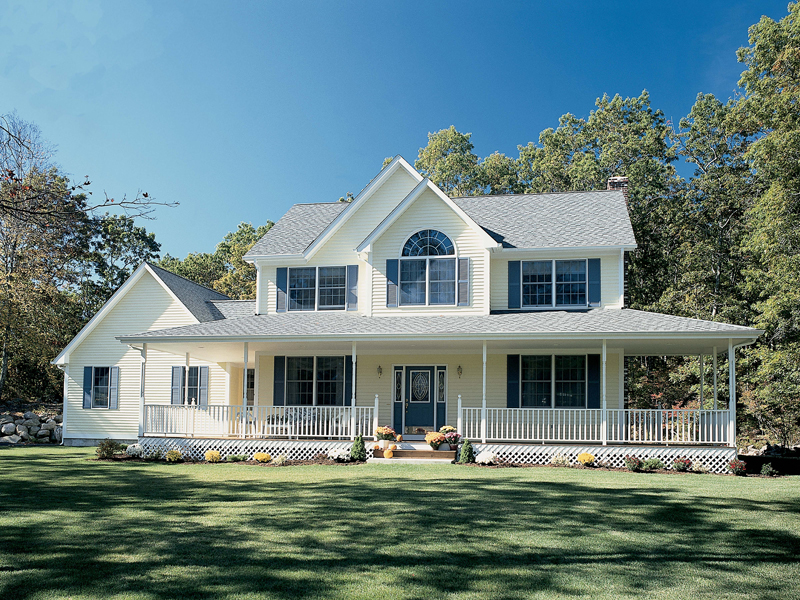 Traditional Southern Home, Symmetrical In Design Part 36