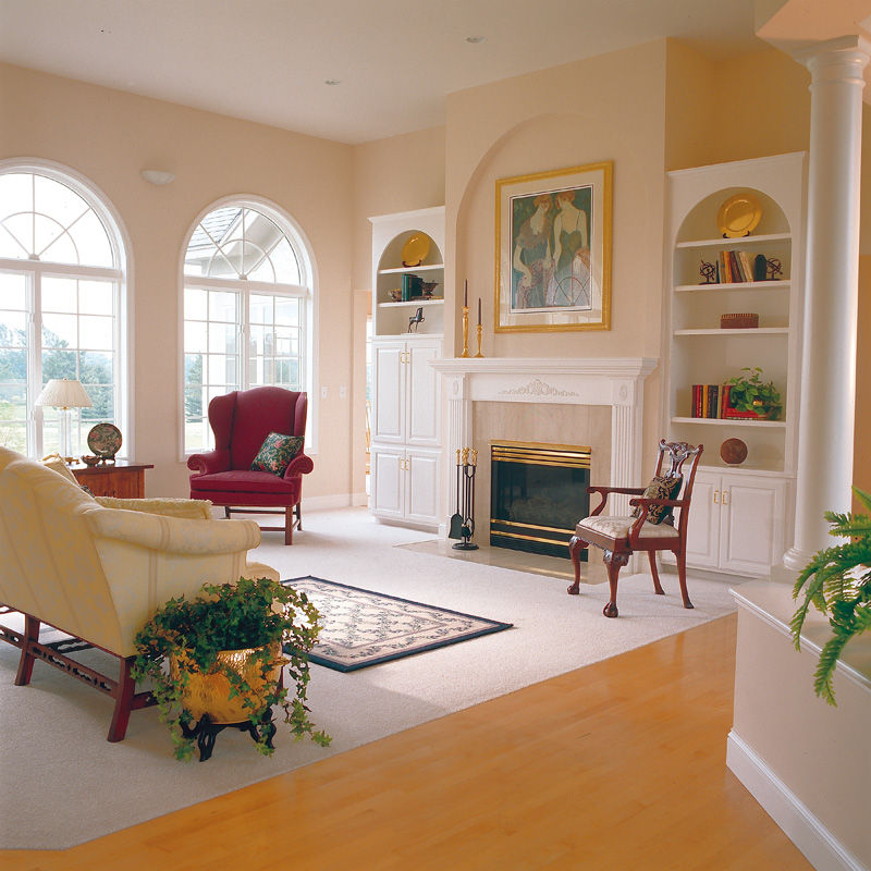 Sunbelt Home Plan Living Room Photo 01 038D-0046