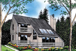 Lake House Plan Front Image - 038D-0047 | House Plans and More
