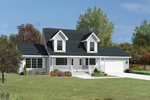Double Dormers Add Country Charm To This Home