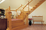 Traditional House Plan Stairs Photo - 038D-0060 | House Plans and More