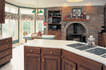 Sunbelt Home Plan Kitchen Photo 01 - 038D-0062 | House Plans and More