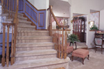 English Tudor House Plan Stairs Photo - 038D-0076 | House Plans and More