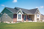 Ranch House Plan Front Photo 01 - 038D-0084 | House Plans and More