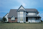 Traditional House Plan Front Photo 01 - 038D-0085 | House Plans and More