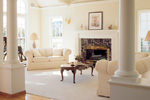 Sunbelt Home Plan Living Room Photo 01 - 038D-0086 | House Plans and More