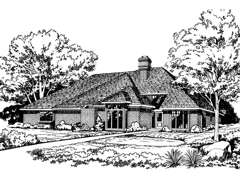 Modern, Contemporary Brick Ranch