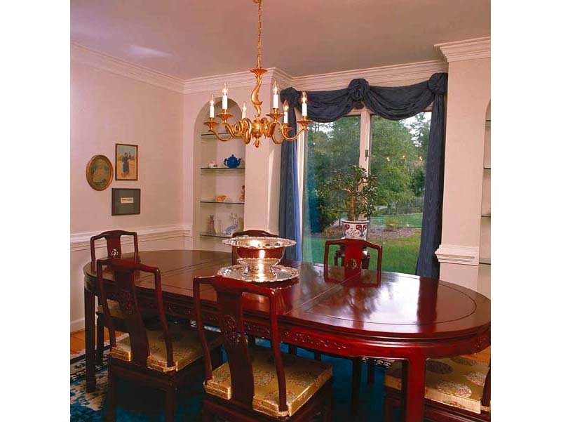 Arts and Crafts House Plan Dining Room Photo 01 038D-0177