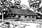 Contemporary, Rustic Cabin Design