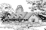 Country Style Home With Cape Cod/ New England Touches
