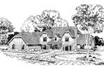 Alluring Tudor Design With Double Bay Windows