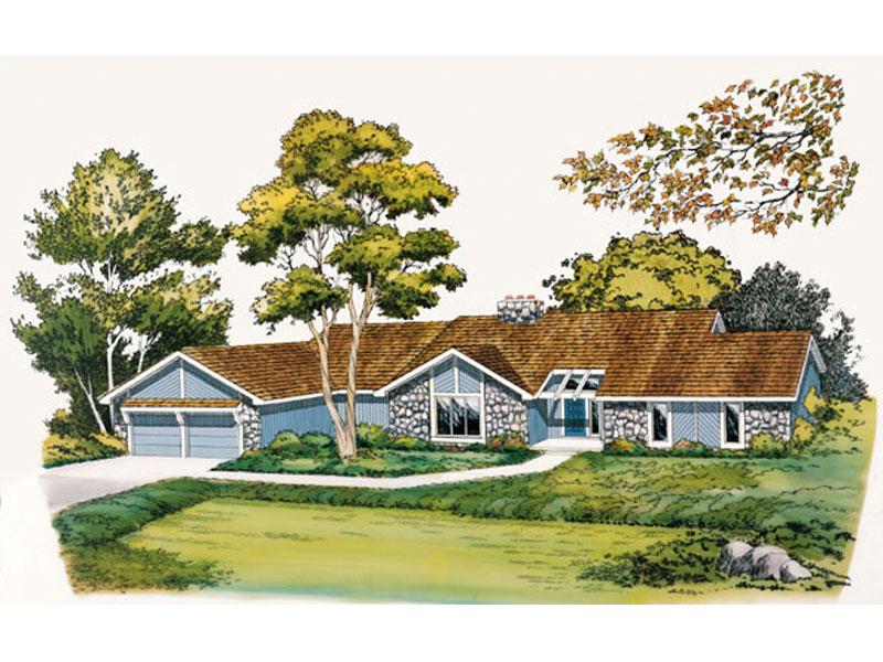 Modern Ranch Design With Tudor Impressions