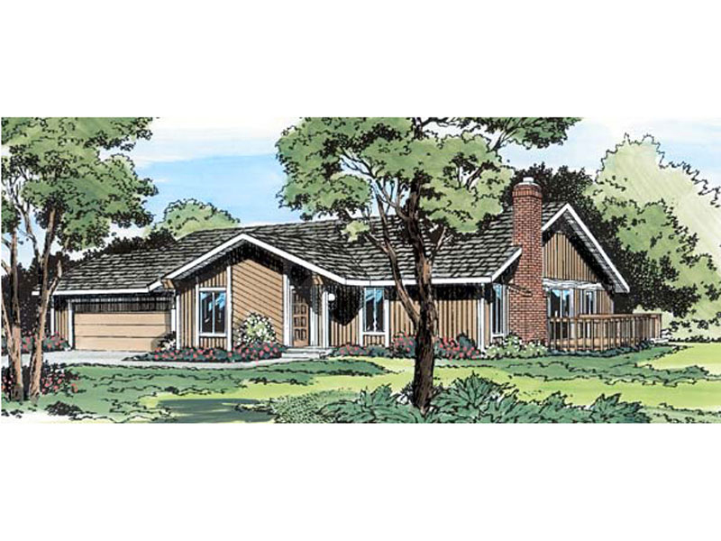 Traditional House Plan Front of Home - 038D-0237 | House Plans and More