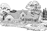 Nestled, Traditional Farmhome Design