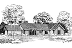 Contemporary Ranch Home Plan