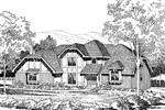 European Designed Home With Tudor Style