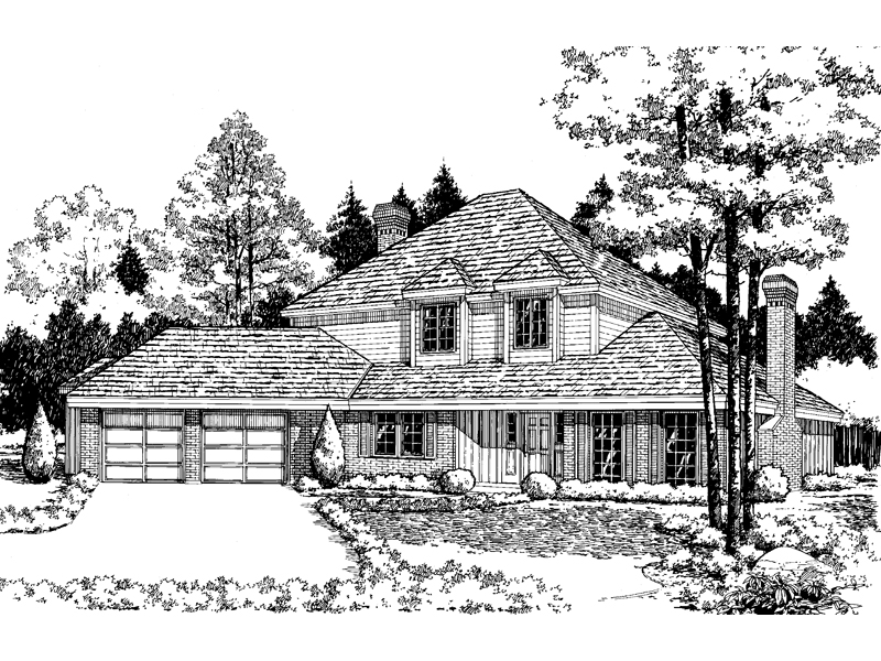 Substantial Home Design With Ample Style