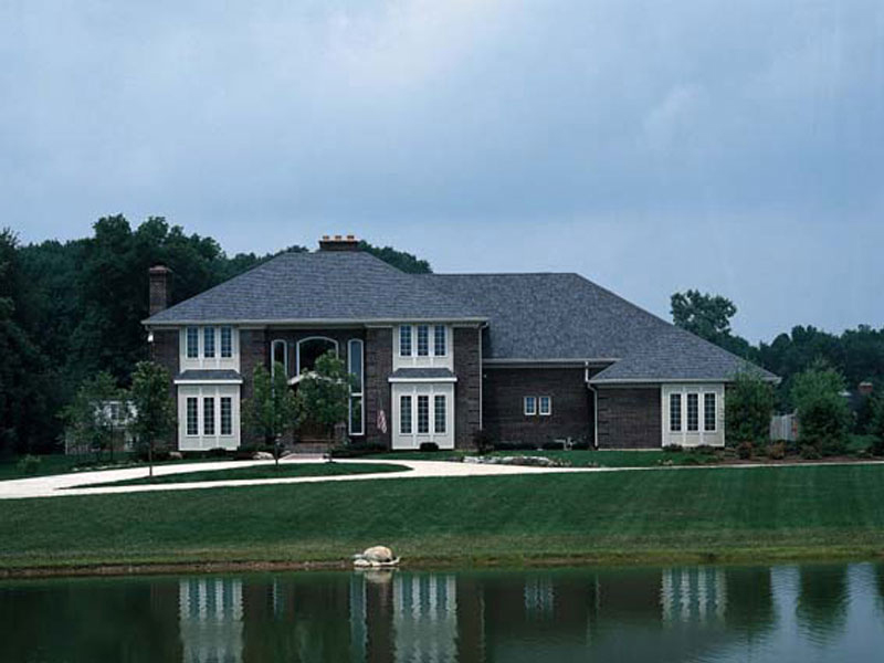 Etna Green Greek Revival Home Plan 038D-0304 | House Plans and More