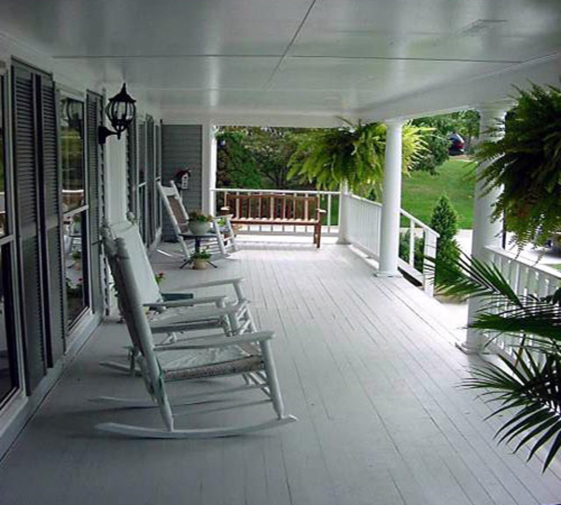 Lowcountry Home Plan Front Porch Photo 038D-0312