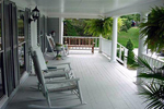 Colonial Floor Plan Front Porch Photo - 038D-0312 | House Plans and More