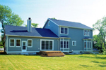 Traditional House Plan Rear Photo 01 - 038D-0312 | House Plans and More