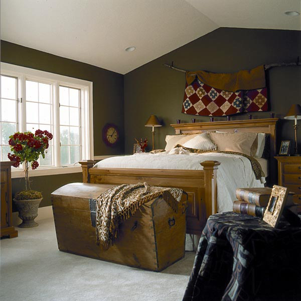 Modern House Plan Bedroom Photo 01 038D-0317