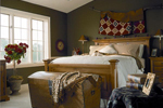 Lowcountry House Plan Bedroom Photo 01 - 038D-0317 | House Plans and More