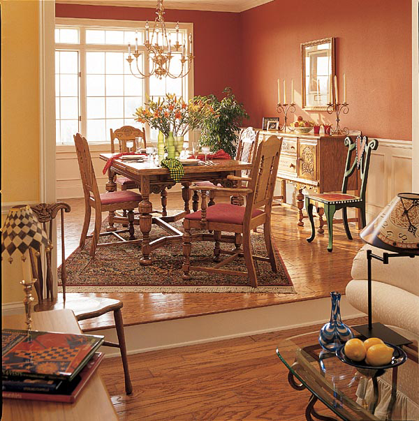 Traditional House Plan Dining Room Photo 01 038D-0317