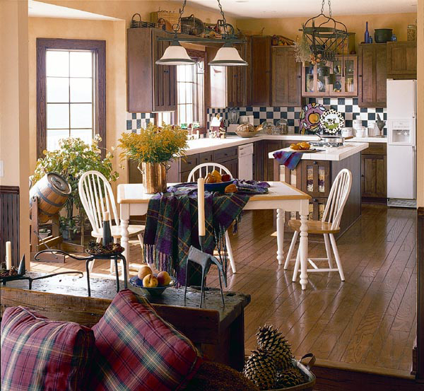 Traditional House Plan Kitchen Photo 01 038D-0317